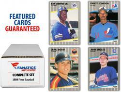 1989 Fleer Baseball Complete Set of 660 Cards