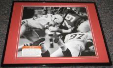 1989 Texas vs Oklahoma Red River Shootout Framed 8x10 Poster Photo