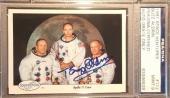 1990 Buzz Aldrin Apollo 11 Space Shots Ventures Signed PSA/DNA MINT 9 AUTO NASA