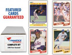 1990 Fleer Baseball Complete Set of 660 Cards - Mounted Memories