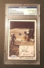 1990 Jim Irwin Apollo 15 Space Shots Ventures Signed PSA/DNA AUTHENTIC AUTO