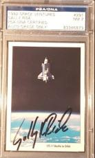 1990 Sally Ride STS-7 NASA Space Shots Ventures Signed PSA/DNA NM 7 AUTO