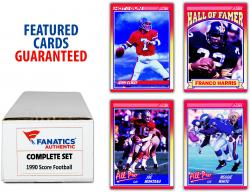 1990 Score Football Complete Set of 660 Cards
