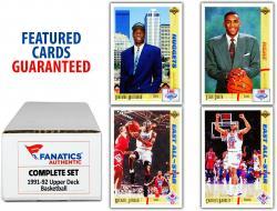 1991-92 Upper Deck Basketball Complete Set of 500 Cards