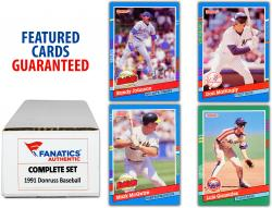 1991 Donruss Baseball Complete Set of 770 Cards - Mounted Memories
