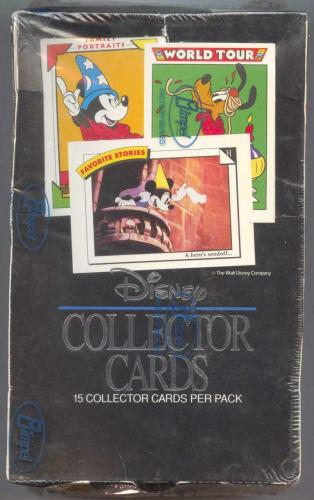 1991 Impel Disney Collector Cards Hobby Box
