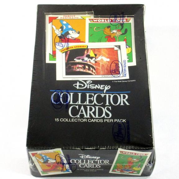 1991 Impel Disney Collector Trading Cards Box Sealed (36 Packs)