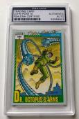 1991 Marvel Weapons John Romita Sr. Dr. Octopus's Arms Signed Auto Card PSA/DNA