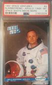 1991 Neil Armstrong Spece Shots Ventures Moon Mars Apollo 11 Graded PSA NM-MT 8