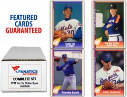 Nolan Ryan 1991 Pacific 110 Card Set - Mounted Memories