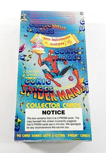 1992 Comic Images Spider-Man 2 30th Anniversary Trading Card Box (48 Packs)