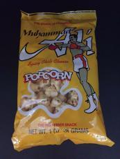 "1992 Muhammad Ali, ""Un-Opened"" Spicy Chili Cheese Popcorn Bag"