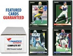 1992 Pinnacle Football Complete Set of 360 Cards - Mounted Memories