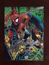 "1992 Stan Lee, ""Autographed"" Spiderman Marvel Card (JSA)"