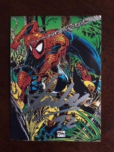 "1992 Stan Lee, ""Autographed"" Spiderman Marvel Card (JSA)"