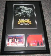 1992 Star Wars George Lucas Super Live Adventure Framed 11x17 Poster Display