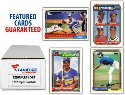 1992 Topps Baseball Complete Set of 792 Cards - Mounted Memories