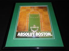 1993 Absolut Vodka Boston Garden 11x14 Framed ORIGINAL Vintage Advertisement