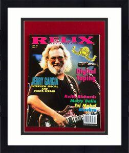 """1993, Jerry Garcia, """"Relix"""" Magazine (No Label) Scarce / Vintage (Grateful Dead)"""