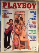 1993 Jerry Seinfeld TV Legend Comedian SIGNED PLAYBOY MAGAZINE JSA AUTOGRAPH