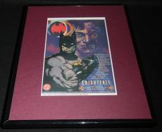 1993 Knightfall Batman Joker Framed 11x14 ORIGINAL Vintage Advertisement B