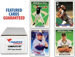 1993 Topps Baseball Complete Set of 825 Cards - Mounted Memories