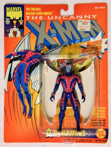 1993 Uncanny X-Men Original Mutant ARCHANGEL Missile Shooting Wings (White Wings