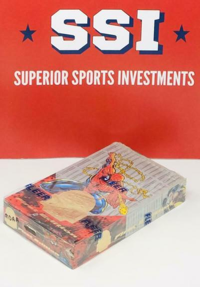 1994 Fleer Spider-Man First Edition Marvel Universe Trading Cards Box