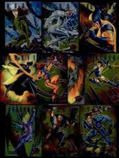 1995 95 Fleer Ultra X-Men SINISTER OBSERVATIONS 10 Card Set Marvel Comics