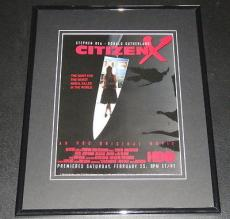 1995 Citizen X 11x14 Framed ORIGINAL Advertisement Donald Sutherland Stephen Rea