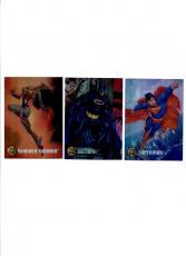 1995 DC Legends Power Chrome Legacy Insert Card Set ! *RARE*