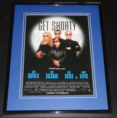 1995 Get Shorty 11x14 Framed ORIGINAL Advertisement John Travolta Danny Devito
