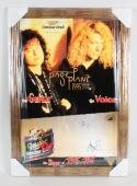 1995 Robert Plant & Jimmy Page Signed 20×30 North American Tour Poster – JSA Full LOA