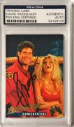 1995 Sports Time Baywatch David Hasselhoff Signed Auto Card (A) PSA/DNA