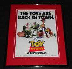 1995 Toy Story 11x14 Framed ORIGINAL Advertisement Tim Allen Tom Hanks