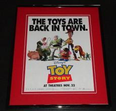 1995 Toy Story 11x14 Framed ORIGINAL Advertisement Tim Allen Tom Hanks