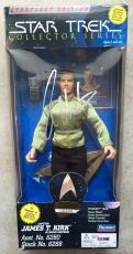 1995 William Shatner Signed Star Trek Captain Kirk Collectors Figure PSA/DNA COA