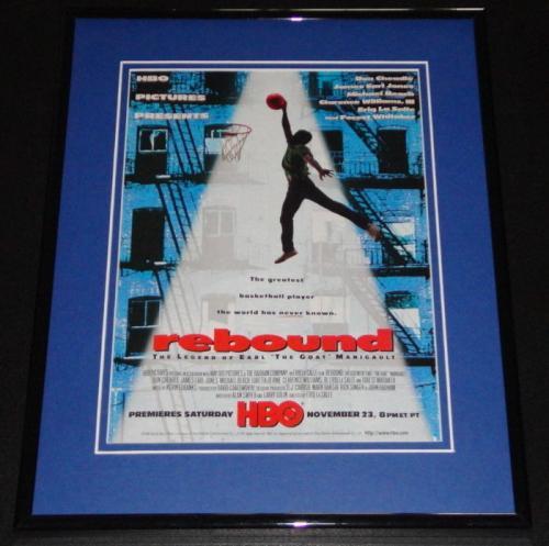 1996 Rebound 11x14 Framed ORIGINAL Advertisement James Earl Jones Don Cheadle