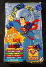1996 Skybox Superman Action Packs Trading Card Box