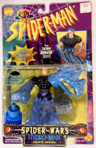 1996 Spider-Man New Animated Series Spider-Wars HYDRO-MAN Aquatic Arsenal