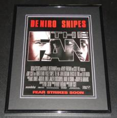 1996 The Fan 11x14 Framed ORIGINAL Vintage Advertisement Robert Deniro