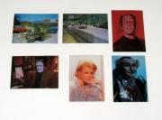1997 Dart The Munsters Deluxe Series 2 Lenticular Chase Card Set (6) Nm/Mt