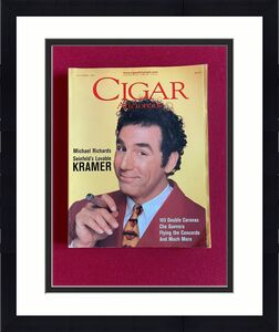 "1997, KRAMER / SEINFELD, ""CIGAR"" Magazine (No Label)  Vintage"