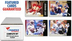 1997 Pinnacle Xpress Football Complete Set of 150 Cards - Mounted Memories