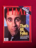 "1998, Jerry Seinfeld, ""TIME"" Magazine (No Label)"