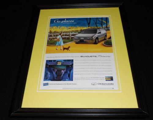 1998 Oldsmobile / Wizard of Oz Framed 11x14 ORIGINAL Vintage Advertisement