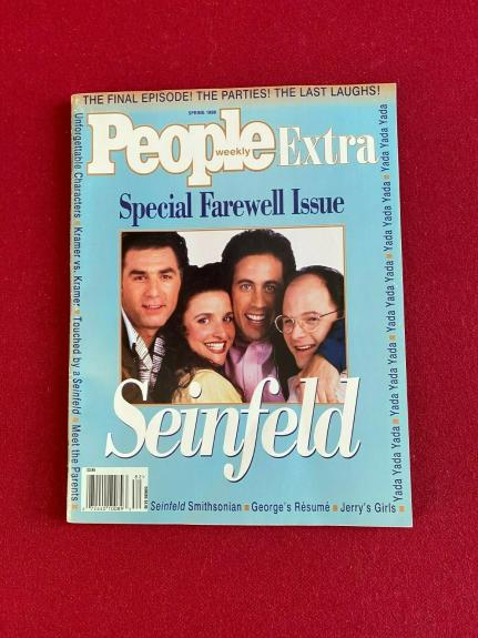 """1998, SEINFELD, """"Special Farewell Extra"""" People Magazine (No Label)  Vintage"""