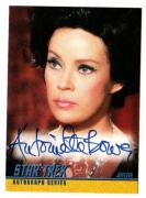 1998 Skybox Star Trek Antoinette Bower As Sylvia Autographed-signed Card A35