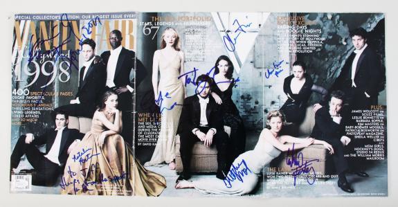 1998 Vanity Fair Signed Magazine (11) Natalie Portman, Vince Vaughn, etc. – COA JSA