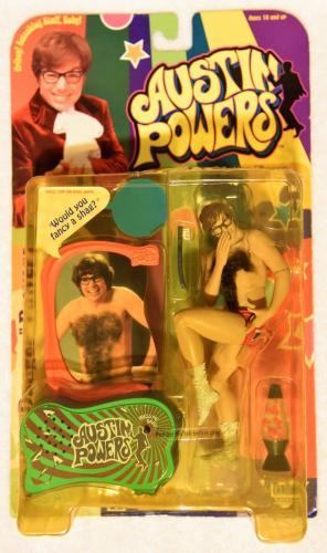 """1999 Austin Powers AUSTIN (Danger) POWERS """"Would you fancy a shag?"""